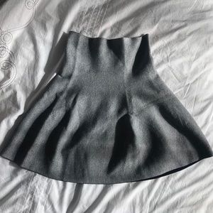 Very CUTE Grey Mini Skirt